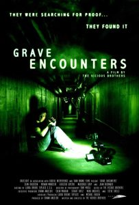 Picture of the movie poster of Grave Encounters, 2011