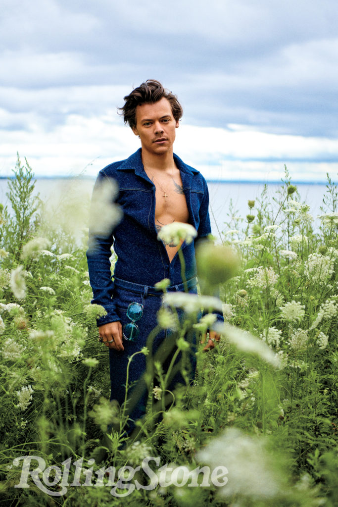 Harry Styles, photographed by Ryan McGinley for Rolling Stone