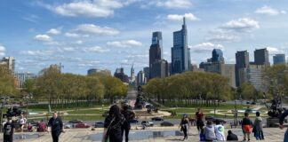 Philadelphia Skyline. Photo taken by Christopher Shallow.